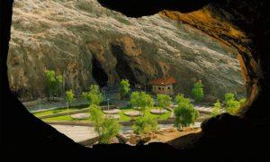 پارک تنگ تیکاب شهرستان کازرون