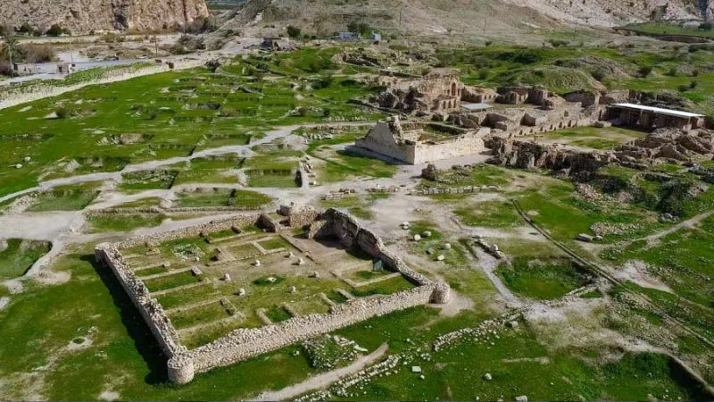 The historic town Bishapur