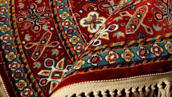 Weaving carpet
